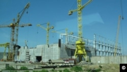 Belene NPP construction site