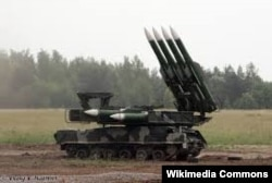 Russian Buk M1 Surface-to-Air missile system