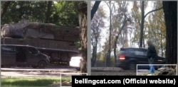 The Joint Investigation Team's investigation into the downing of MH17 published a new photograph Buk 332, the Russian Buk missile launcher that allegedly downed MH17 on July 17, 2014.