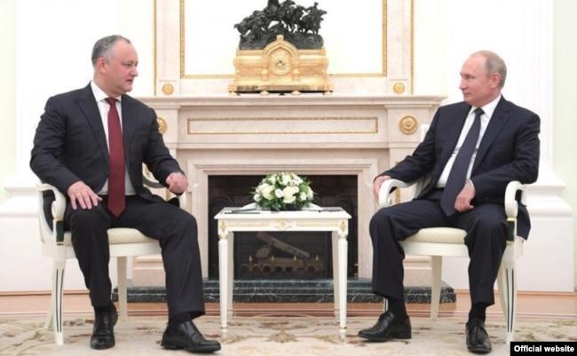 Moldova, Russia, Moldovan president Igor Dodon met Russian president Vlaidmir Putin, Moscow, 15 july 2018