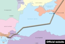 TurkStream map