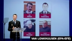 NETHERLANDS – Wilbert Paulissen of the Joint Investigation Team (JIT) at the press conference of the JIT on the ongoing investigation of the Malaysia Airlines MH17 crash in 2014, in Nieuwegein, 19 June 2019