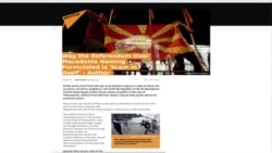 Macedonia's Referendum -- Russian Media Narrative and What's Next