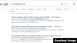 RT Russia reports on US airstrikes vs IS oil infrastructure