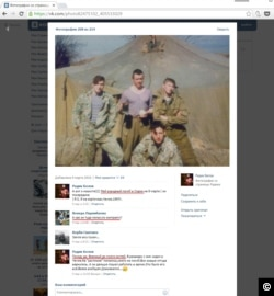 A screen capture from CIT's March 22, 2016 report, which used social media posts to confirm the existence of Wagner Group mercenaries who died fighting in Syria.