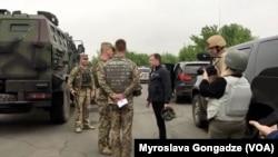 U.S. Special Envoy to Ukraine Kurt Volker visits Ukraine's Donbas region