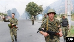 Georgia -- South Ossetia Georgian troops, 09Aug2008