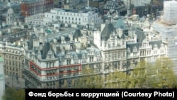 London. Apartment of Vice-Prime Minister Shuvalov according to Navalny