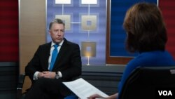 Kurt Volker, U.S. special representative for Ukraine negotiations, interviewed by Myroslava Gongadze of the VOA Ukrainian Service