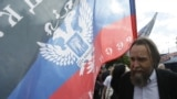 Russia -- Kremlin-connected anti-Western ideologue Aleksandr Dugin at a rally in support of Donbas, Moscow, June 11, 2014