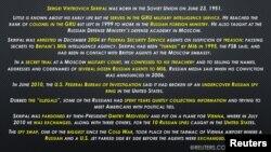 Who is Sergei Skripal - the Russian ex-spy poisoned in London, U.K.? BY REUTERS