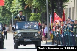 Georgia -- South Ossetia holds a WWII Victory Day parade on the same day as Russia. June 24, 2020.