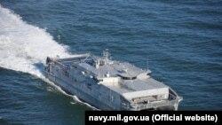 USNS Yuma USA ship, type JHSV, Odessa, June 29, 2019