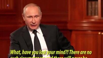 Putin on Crimea