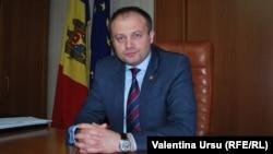 Moldova - Moldovan Parliament Speaker Andrian Candu, Chisinau
