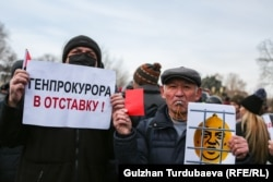Kyrgyzstan - Bishkek - REакция 2.0 - Protest against corruption and prosecution of the press 18 Dec 2019