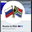 Twitter Account of Russia's Embassy in South Africa