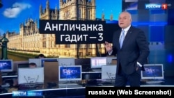 Dmitry Kiselev, TV host of Rossiya-1 Sunday weekly news show, spend 1 hour 23 minutes on Vladimir Putin's 'triumphant' re-election and other topics, dedicating only 3 minutes of time to the Kemerovo shopping mall fire on March 25, 2018.