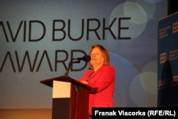 USA - Amanda Bennett , at David Burke Award Ceremony, Washington, 14Nov2017