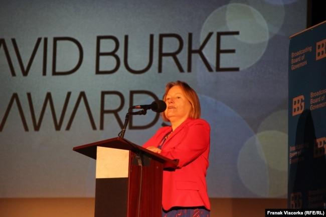 USA - Amanda Bennett , at David Burke Award Ceremony, Washington, 14Nov2017