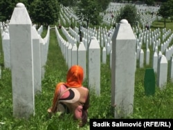 Bosnia-Herzegovina - Potocari Memorial Centre for Srebrenica genocide victims, opened in 2003.