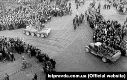 LATVIA – Soviet troops move into Riga, starting the occupation.