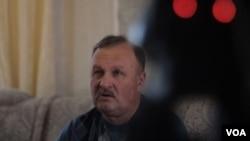 Valeriy Butin, Maria Butina's father, Barnaul, Russia, January 11, 2019 (R. Marquina-Montanana/VOA).