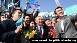 Kazakhstan - Almaty - Ex-president Nursultan Nazarbayev is visiting the city, March 26, 2019.