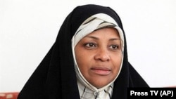 IRAN -- American-born Press TV news anchor Marzieh Hashemi