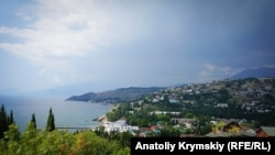 UKRAINE - Malorechenskoe village, South Coast of Crimea in summer, July 14, 2018.