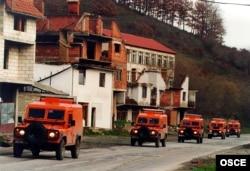 Kosovo -- OSCE Verification Mission in 1998