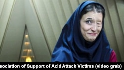 'We Suffer Everyday': An Acid Attack Victim's Fight For Justice In Iran video grab 2