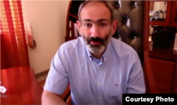Armenia - PM Nikol Pashinyan during Facebook Live, Yerevan, Jun 17, 2018