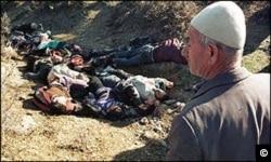 Kosovo -- The Racak massacre in January 1999