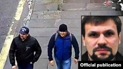 "GRU agents ""Boshirov"" and ""Petrov"" spotted in Salisbury, Great Britain"