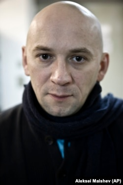 RUSSIA -- Russian documentary filmmaker Aleksandr Rastorguyev poses for a photo in Moscow, January 18, 2011