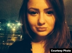 Russia -- Student Alina Sablina, killed in a car accident in Moscow in January 2014