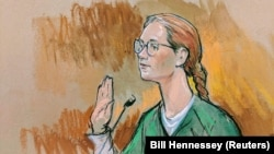 U.S. - Accused Russian agent Maria Butina pleads guilty to a single conspiracy charge in a deal with prosecutors and admitted to working with a top Russian official to infiltrate a powerful gun rights group and influence U.S. policy toward Moscow.