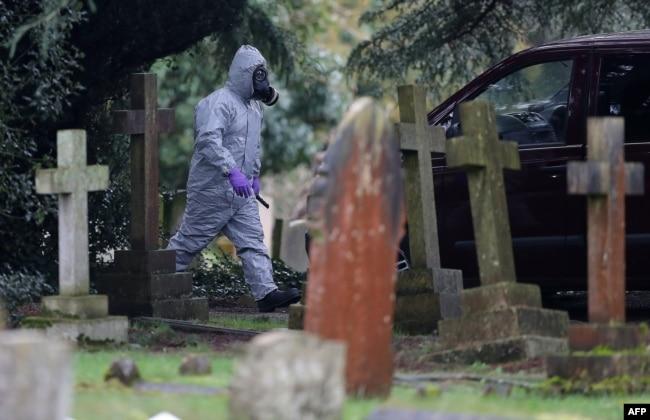 London Road Cemetery in Salisbury