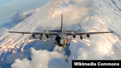 The AC-130 gunship was one of the aircraft used in the strike against Russian Wagner mercenaries and their pro-Assad militia allies