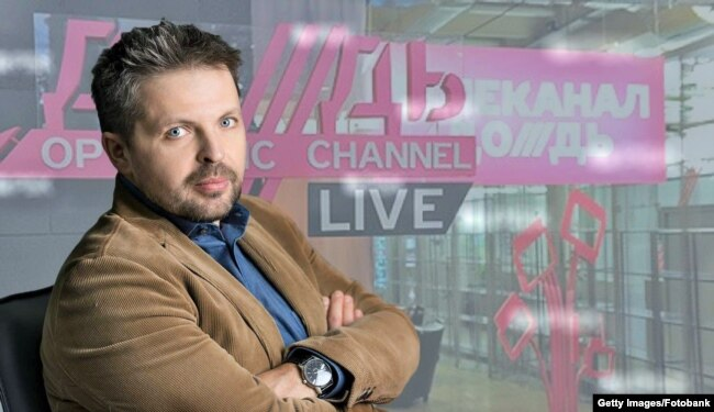 "Roman Badanin, Editor-in-Chief of ""TV Rain,"" Russia"