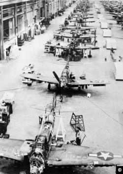 McClellan Air Force base during WW II