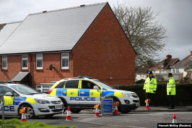 Home of former Russian intelligence officer Sergei Skripal, who was found poisoned in March.