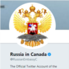 Russian Embassy in Canada Twitter Account