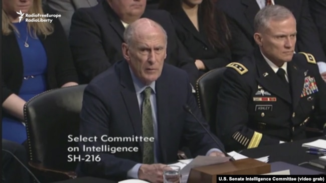 Director of National Intelligence Dan Coats Testifies Before the Congress