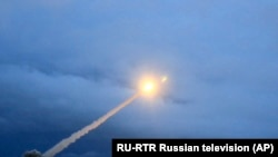 RUSSIA -- The launch of what President Vladimir Putin said is Russia's new nuclear-powered intercontinental cruise missile