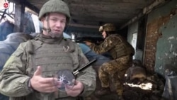 Pro-Russia Separatist in Ukraine Claims Mortar is NATO-Made