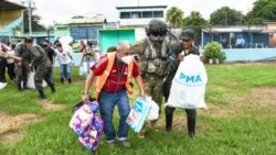 Hurricane Eta Hammers Nicaragua, But Not in Ortega's Mind