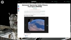 Russian Robot FEDOR Tweeted from Space a Plagiarized Picture of Earth